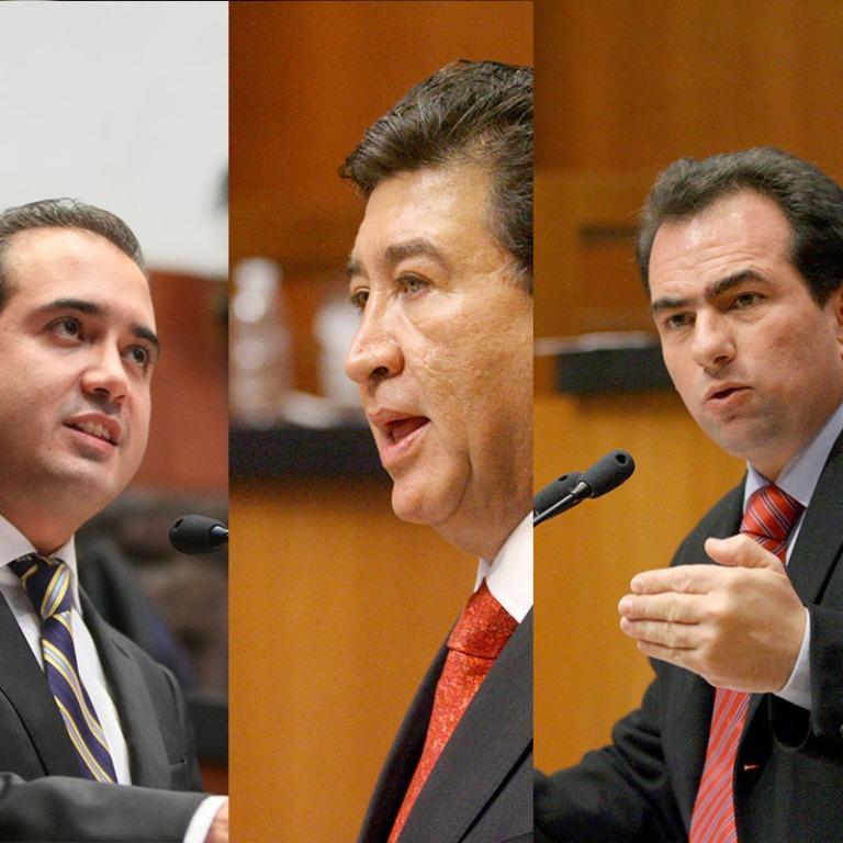 Los Yunes en el Senado de la República